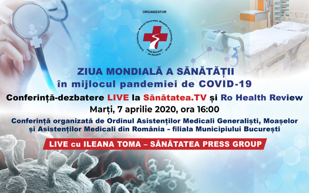 Ziua Mondială a Sănătății în mijlocul pandemiei de COVID-19