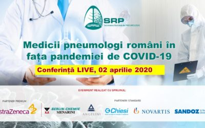 Medici pneumologi români în fața pandemiei de COVID-19