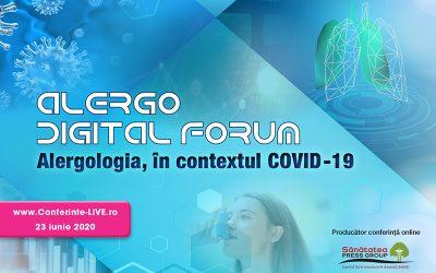 ALERGO DIGITAL FORUM – Alergologia, în contextul COVID-19