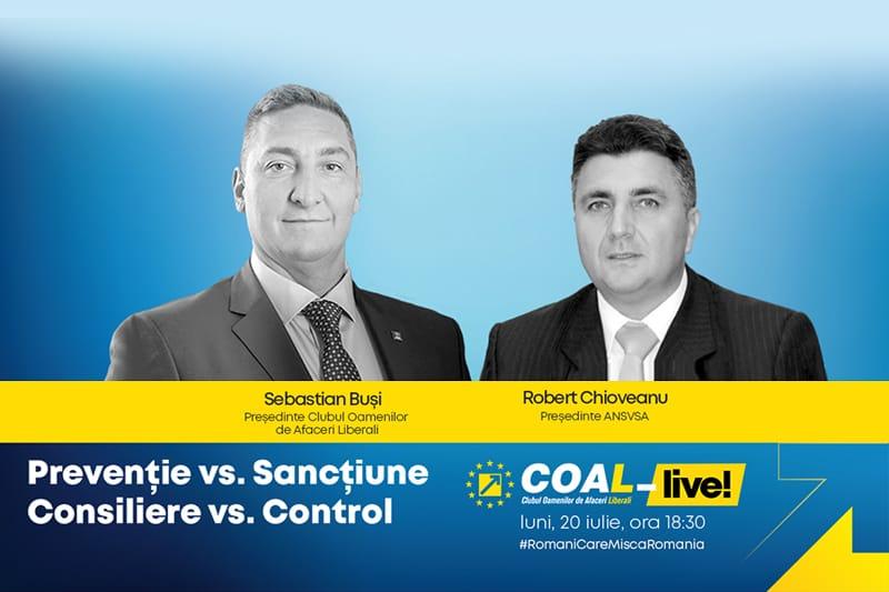 COAL-Live: Prevenție vs. Sancțiune, Consiliere vs. Control
