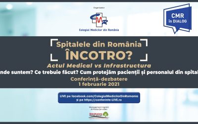 01.02.2021 | Spitalele din România, ÎNCOTRO? Actul Medical vs. Infrastructură