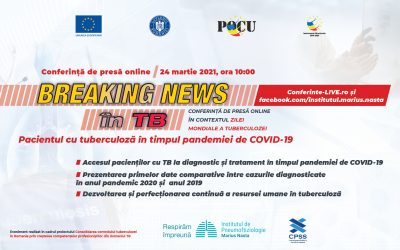 24.03.2021 | Conferință de presă Ziua Mondială a Tuberculozei